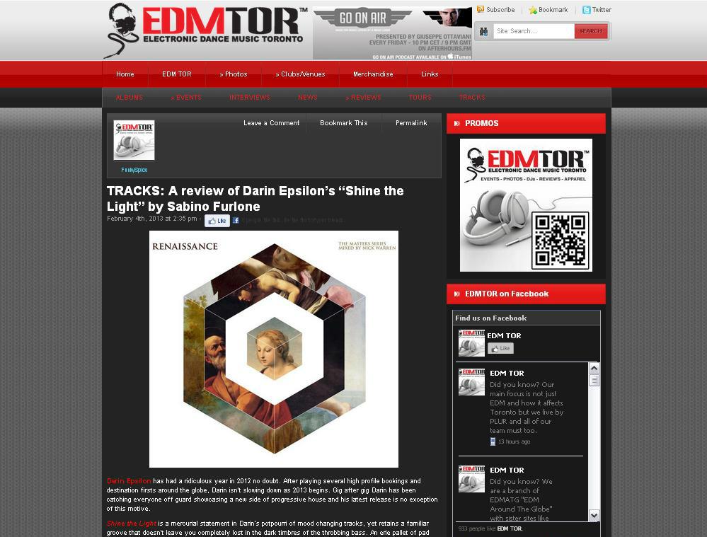 EDM Toronto feature