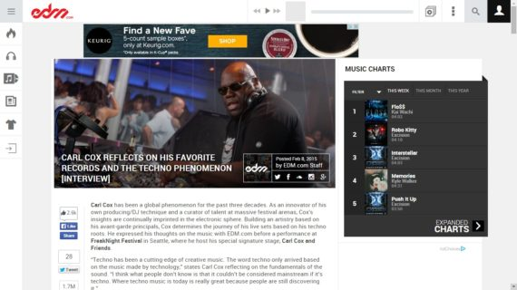 WILF LIBGOTT interviews CARL COX for EDM.COM