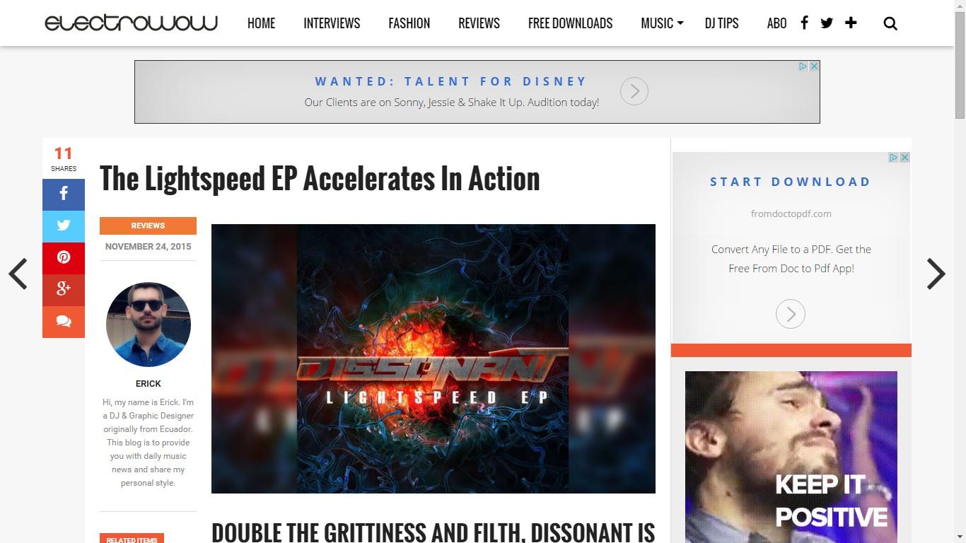 Lightspeed EP