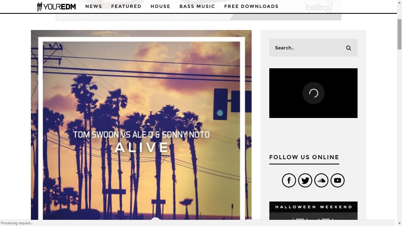 Sonny Noto feature Your EDM